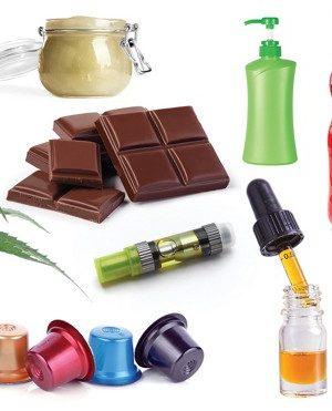 CBD Oils, Topicals & Capsules
